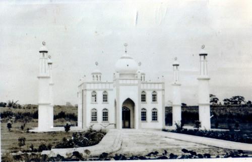 De moskee te Waterloo anno 1968